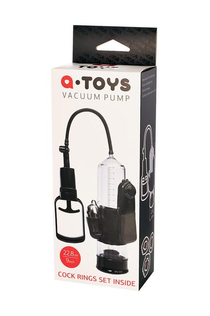 Поршневая помпа с вибрацией Vacuum Pump TOYFA A-TOYS
