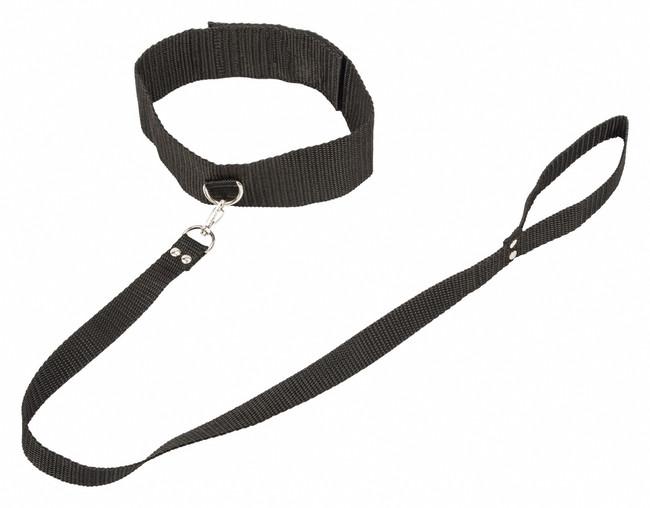Ошейник Bondage Collection Collar and Leash Plus Size фото 1