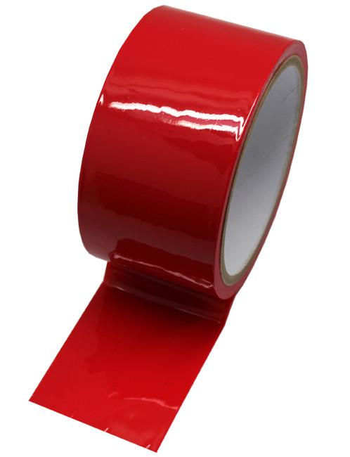 Скотч для бондажа красный (17 метров)