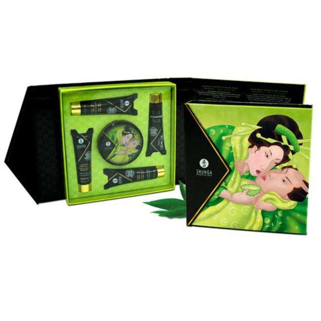 Подарочный набор Geisha's Secret ОРГАНИКА Экзотический зеленый чай (5 предметов) фото 1