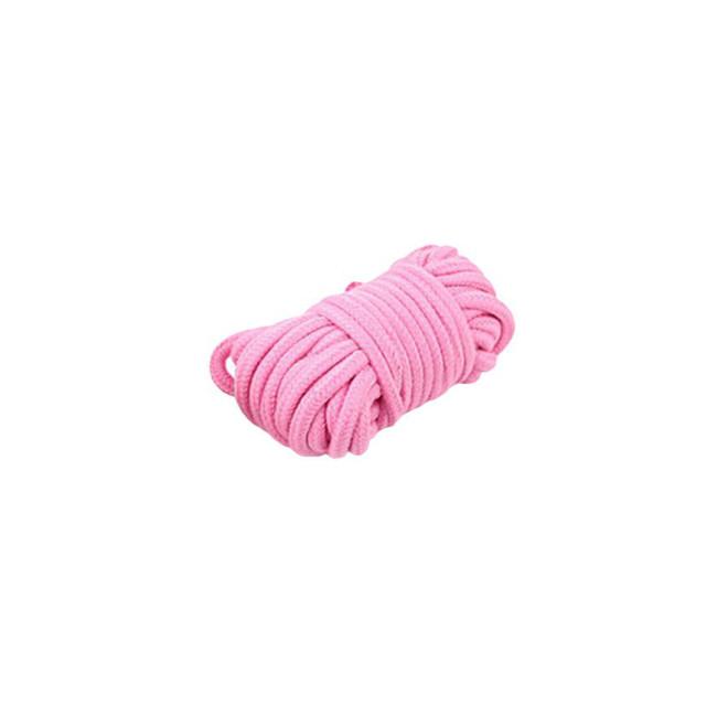 Веревка для связывания розовая Onjoy BDSM Rope Pink (5 метров)