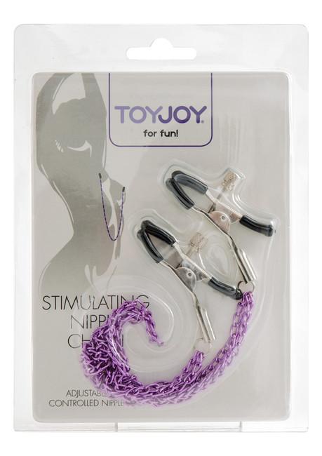 Зажимы для сосков Stimulating Nipple Chain